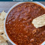 copycat chipotle spicy salsa
