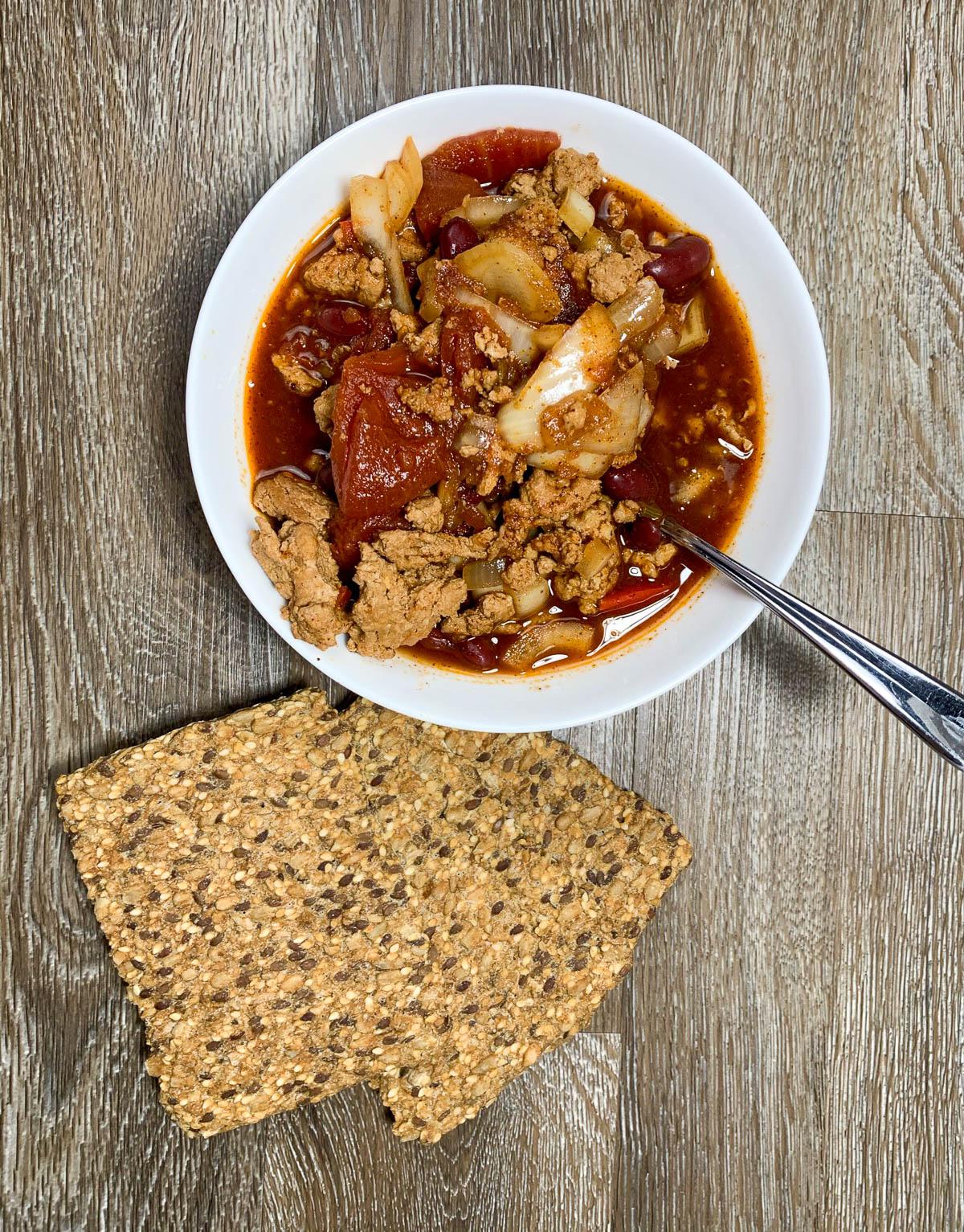 slow cooker diabetic asian turkey chili