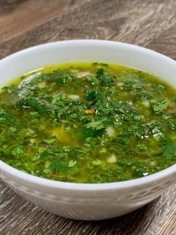 easy chimichurri sauce