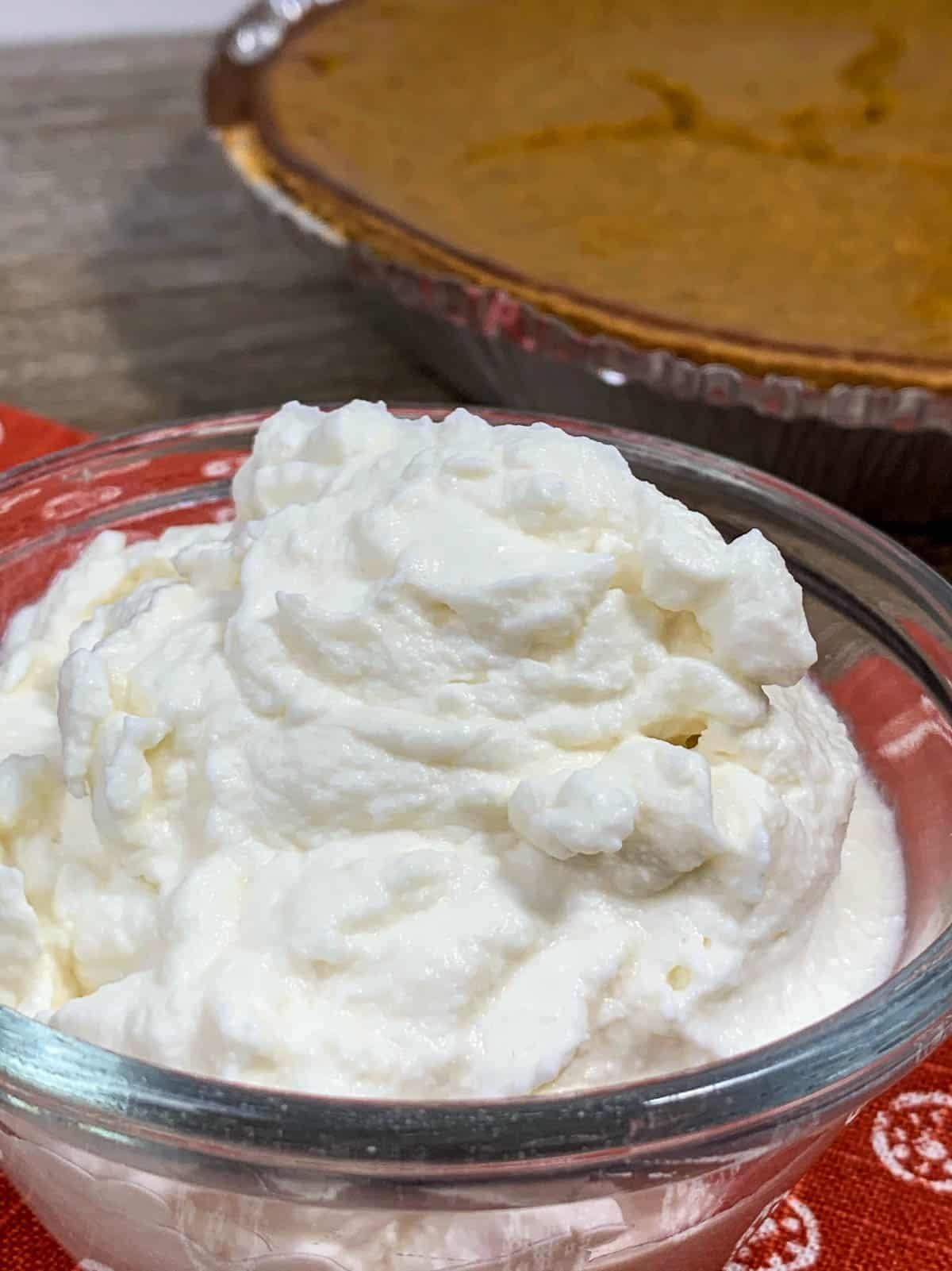 maple bourbon whipped cream