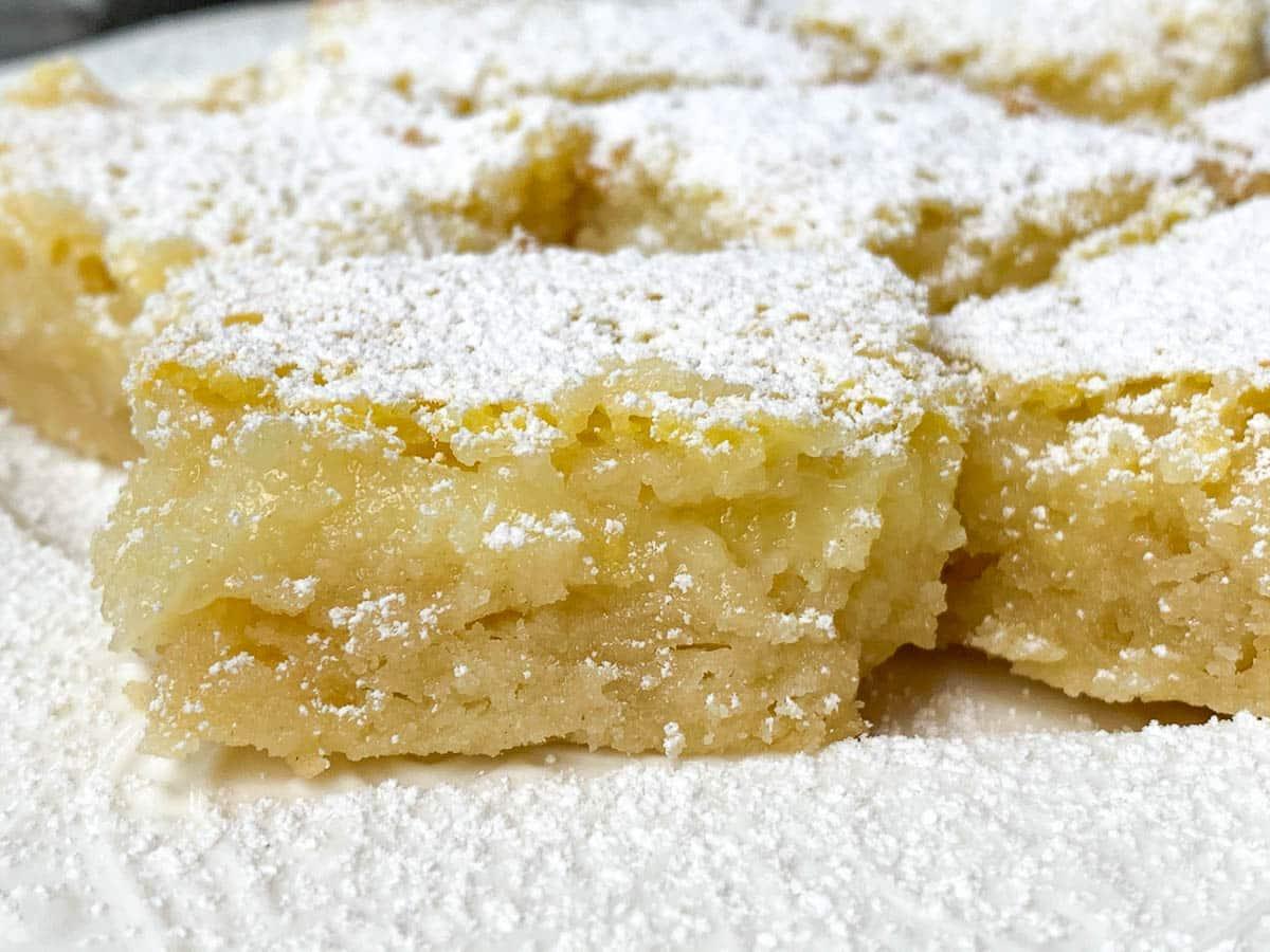 rich lemon bars