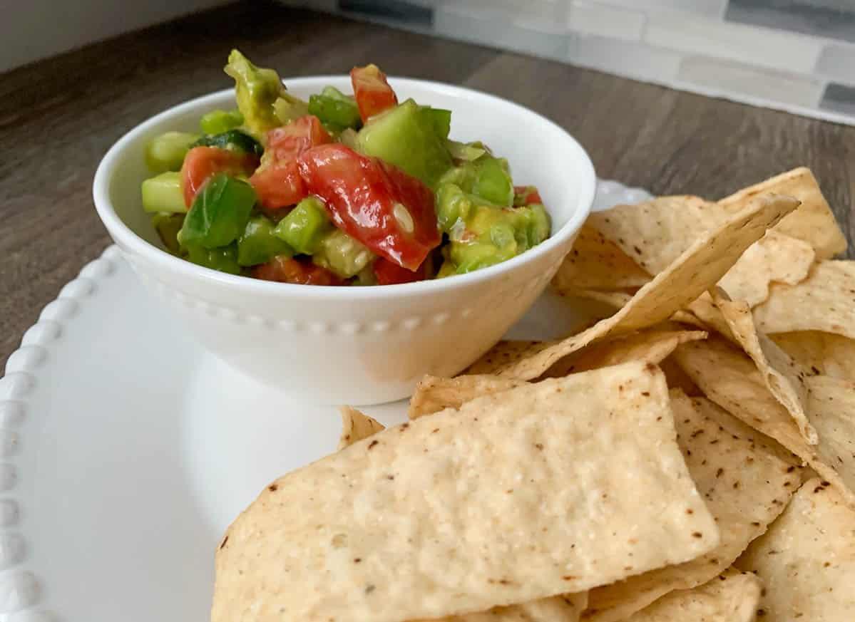 simple avocado salsa