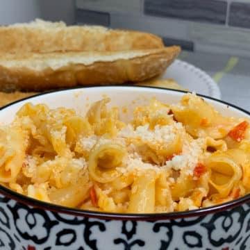 trader joes cheesy hot pepper pasta