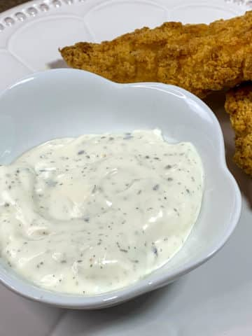 Copycat Wendy's Ranch Dipping Sauce
