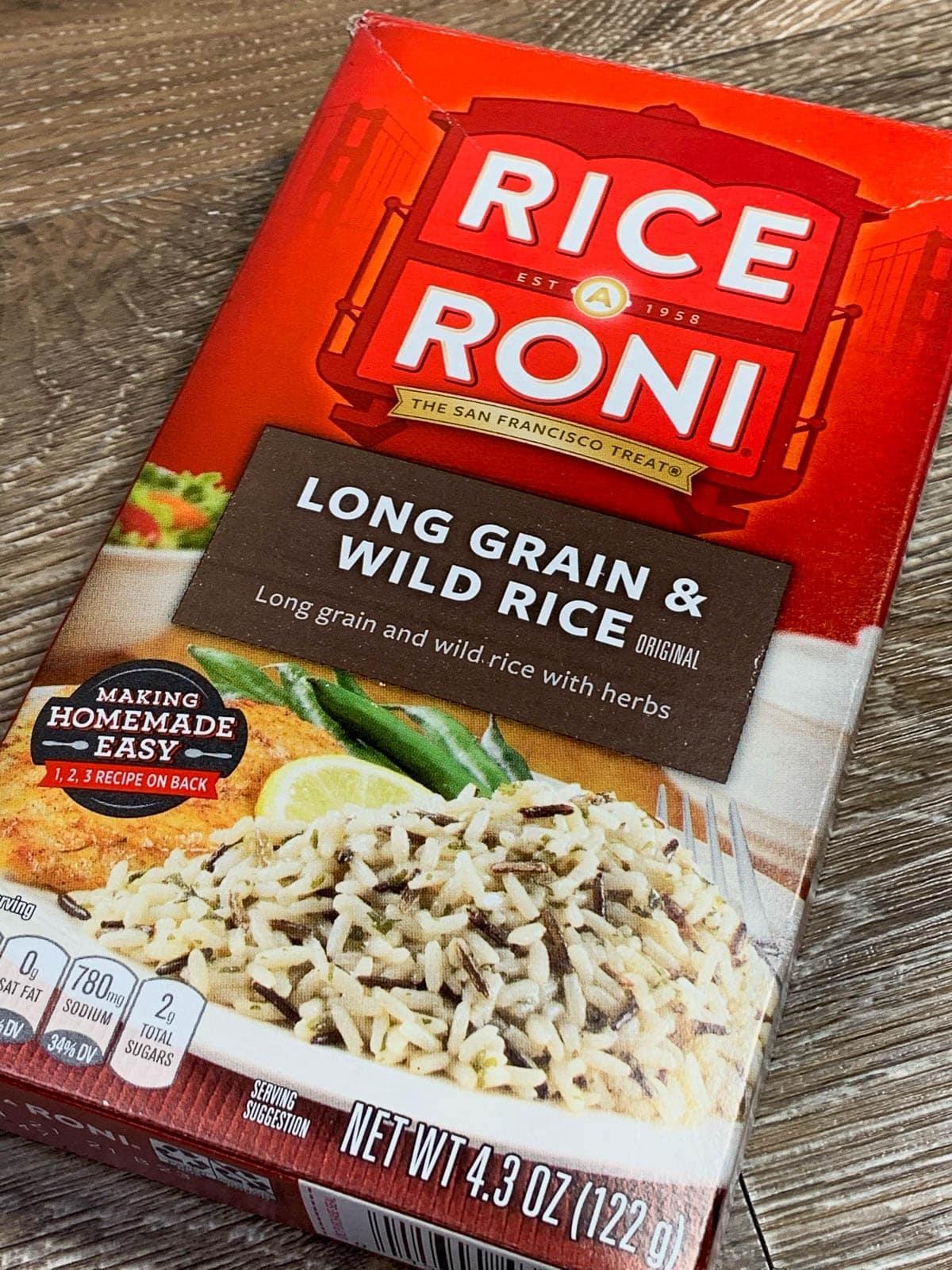 rice-a-roni long grain wild rice