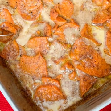 scalloped sweet potatoes