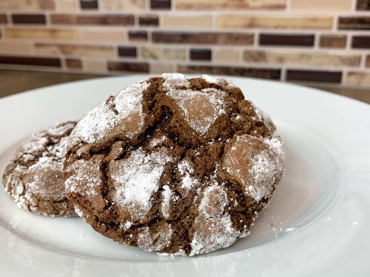 chocolate sambuca cookies