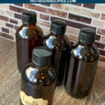 instant pot homemade vanilla extract