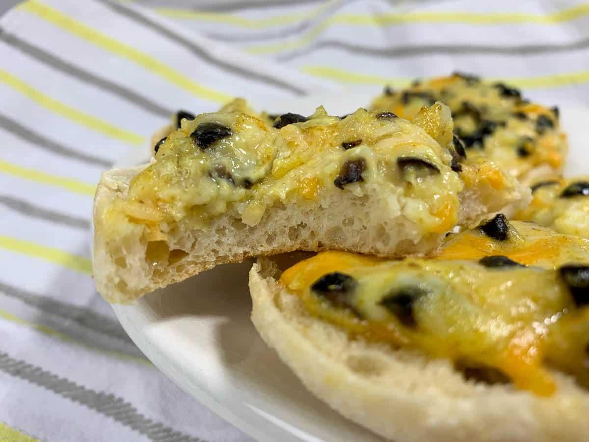 english muffin snacks