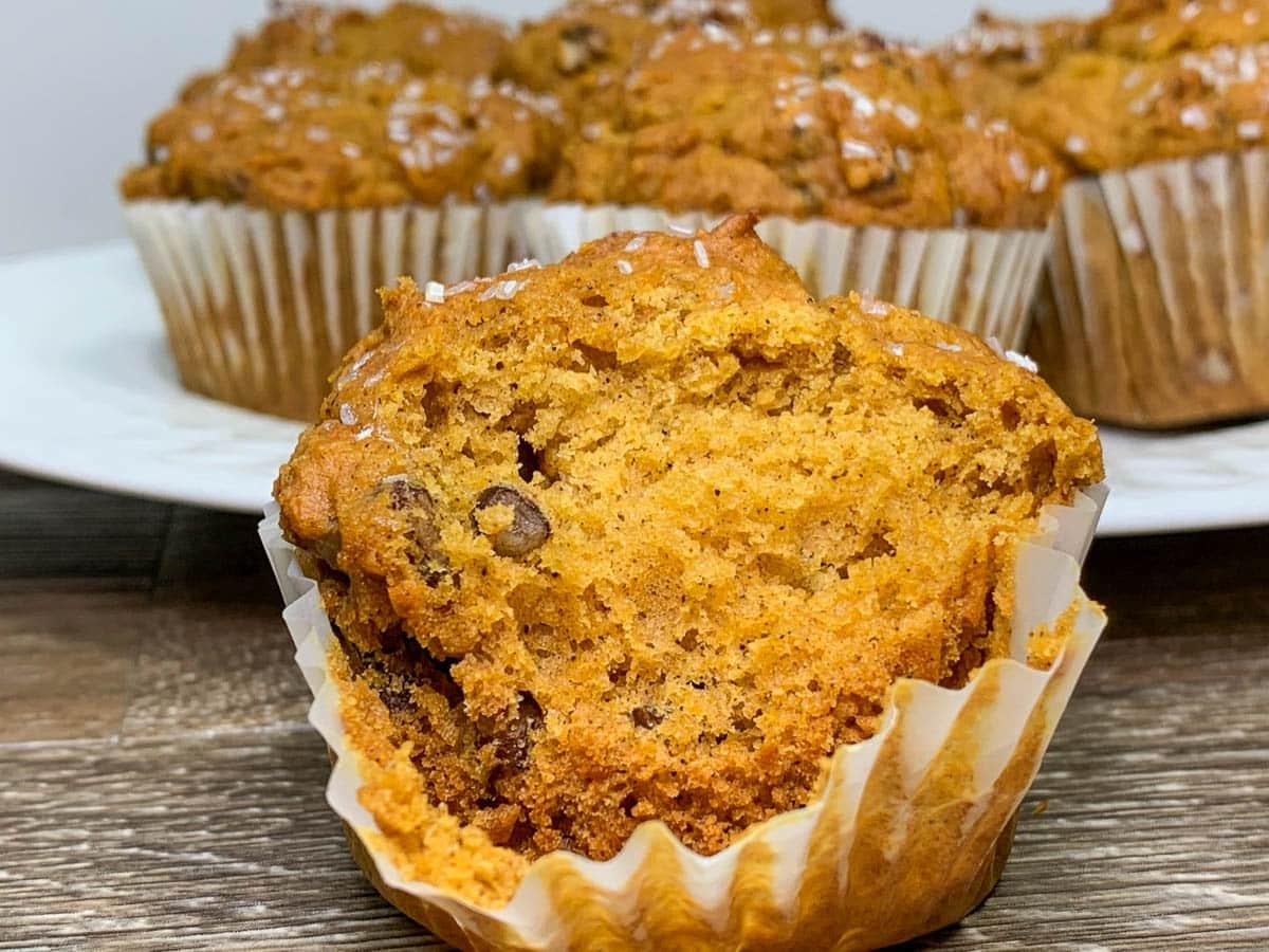 pumpkin honey muffins
