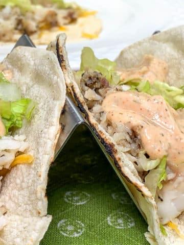 spicy fish taco sauce