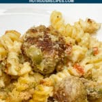 turkey meatball olive casserole