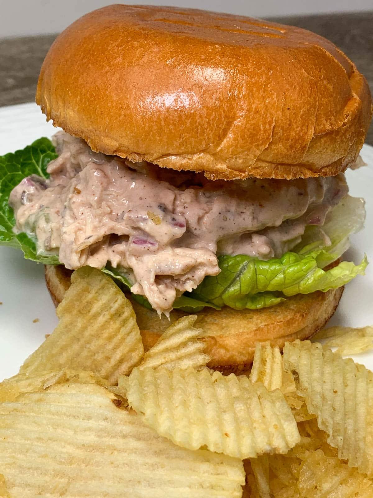 bbq chicken salad sandwiches