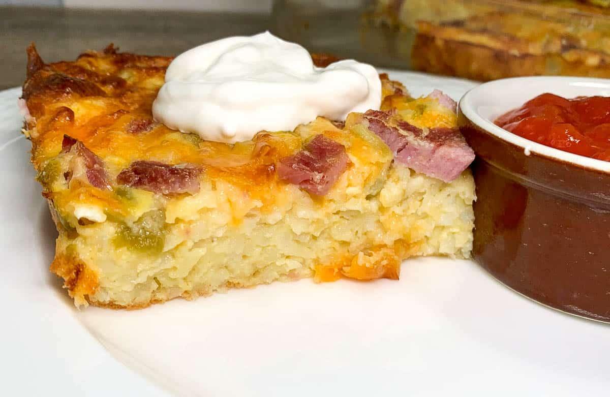 green chili breakfast bake