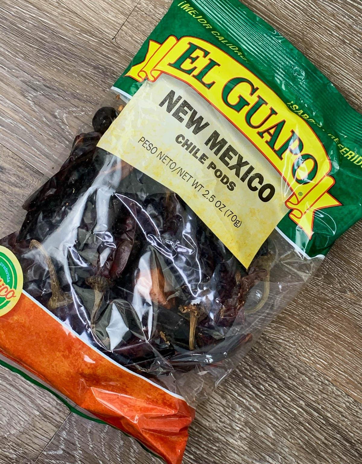 new mexico chili pods