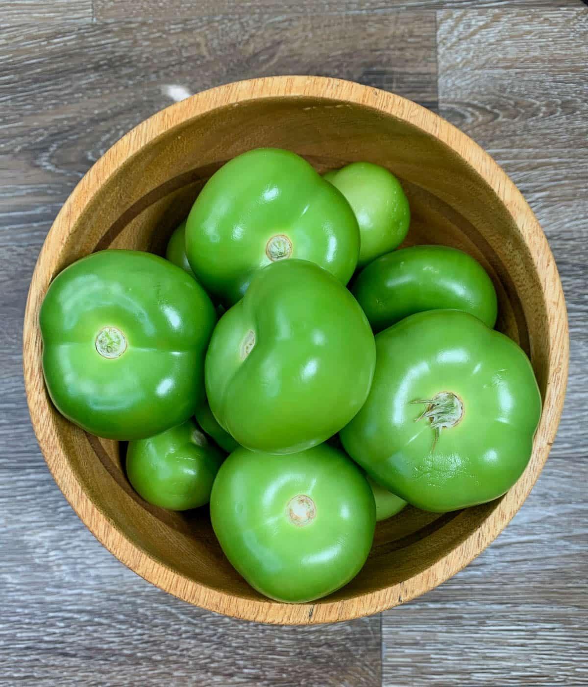 fresh tomatillos
