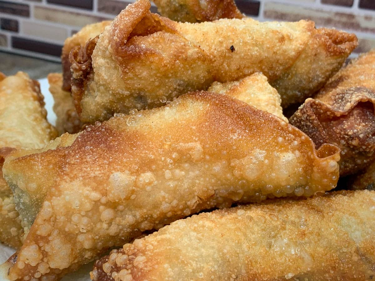deep fried egg rolls
