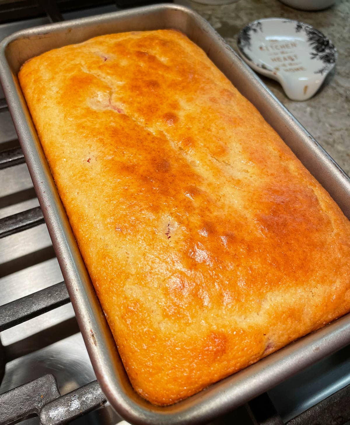 Pound Cake Fresh out of the Oven