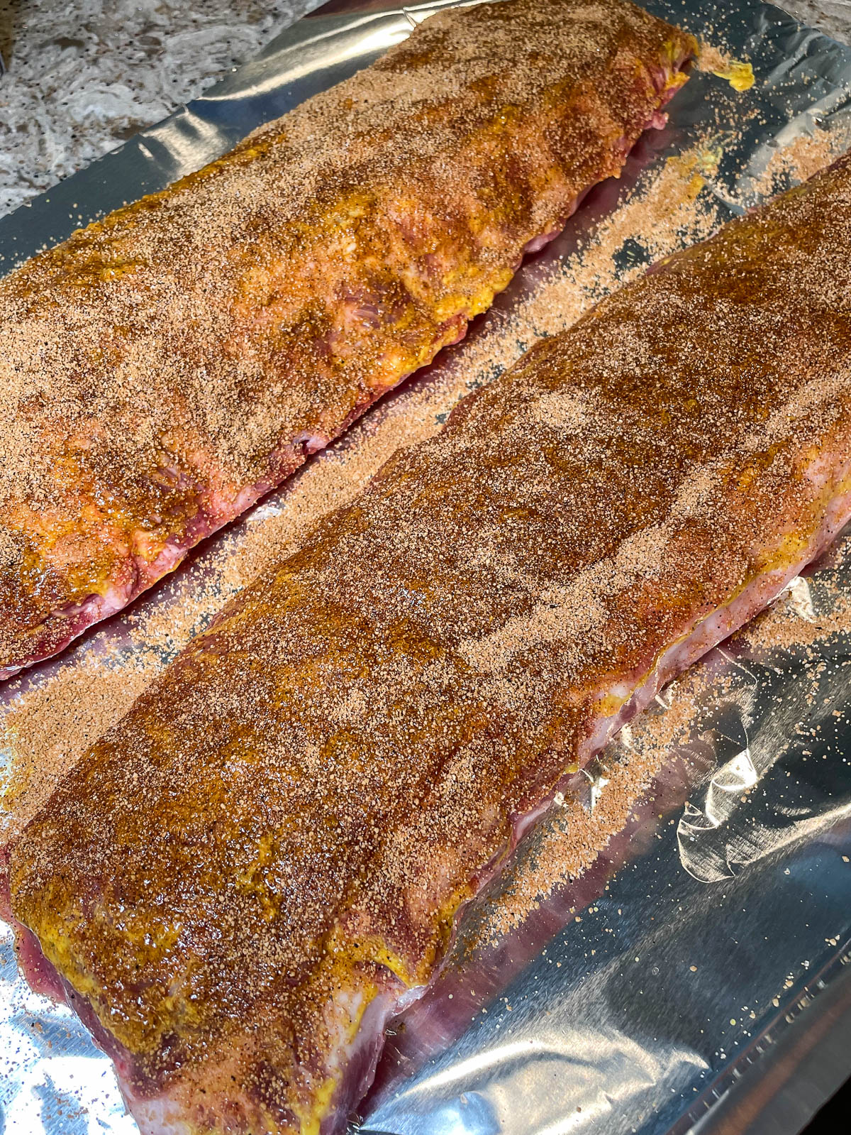 dry rub on pork ribs