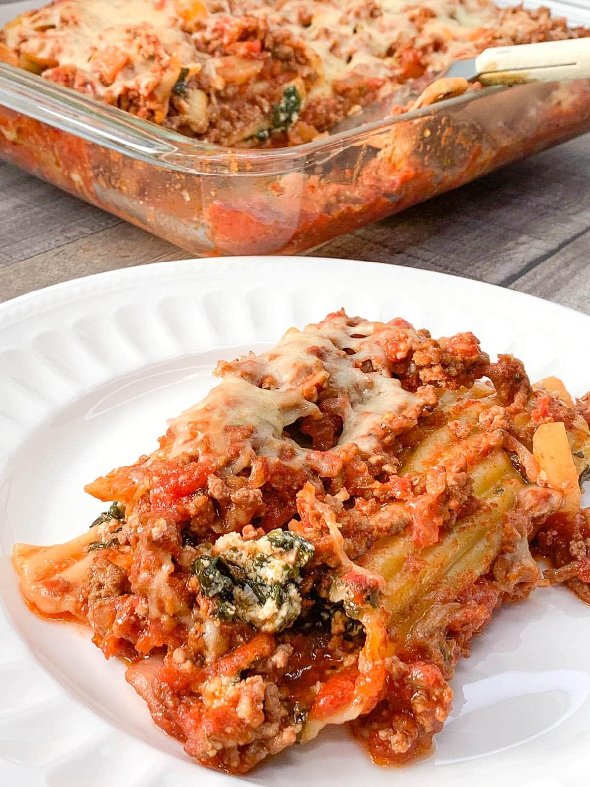Italian Manicotti