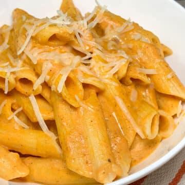 pumpkin penne pasta